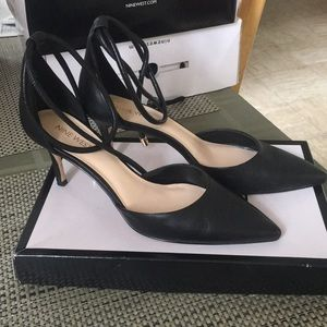 Nine West millenio heels in black